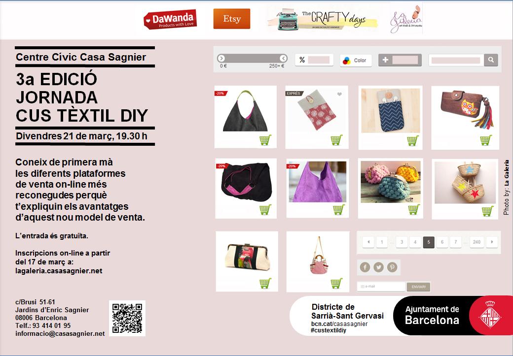 3a Jornada Cus textil DIY